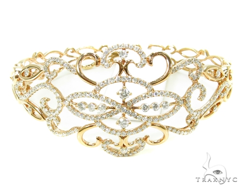 Prong Diamond Bangle Bracelet 38007 Bangle