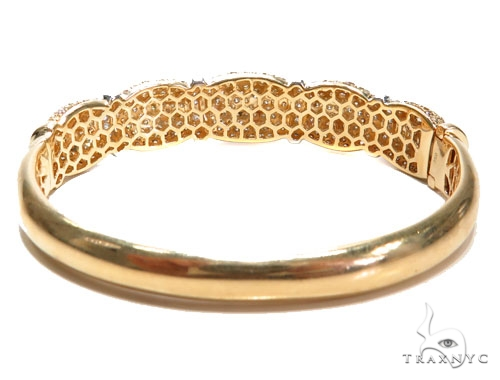 Prong Diamond Bangle Bracelet 41318 Bangle