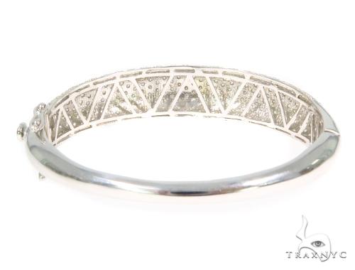 Prong Diamond Bangle Bracelet 44508 Bangle