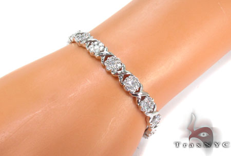 Prong Diamond Bracelet 31299 Diamond