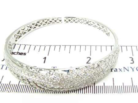 Prong Diamond Bracelet 32081 Bangle