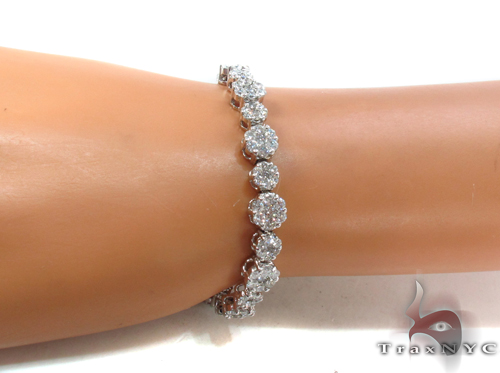 Prong Diamond Bracelet 34046 Diamond