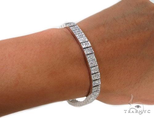 Prong Diamond Bracelet 37399 Diamond
