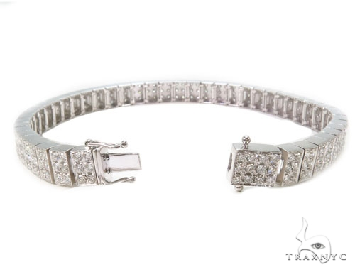 Prong Diamond Bracelet 37399 Diamond