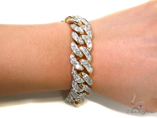 Prong Diamond Bracelet 40452 Diamond