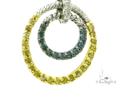 Prong Diamond Chandelier Earrings 36961 Style