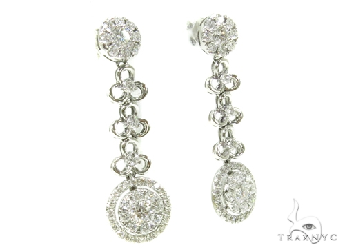 Prong Diamond Chandelier Earrings 38023 Style