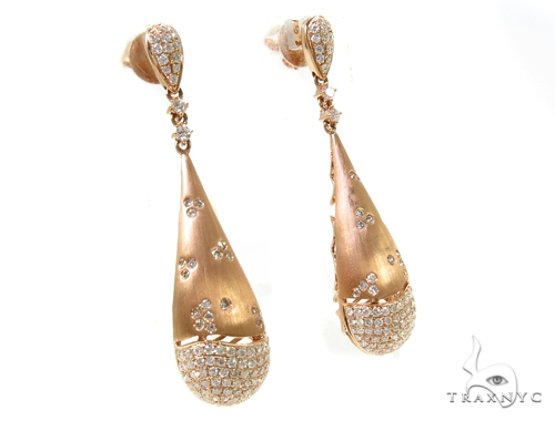 Chestnut Diamond Chandelier Earrings 38032 Style