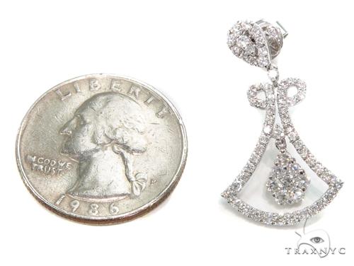 Bellflower Diamond Chandelier Earrings 40392 Style