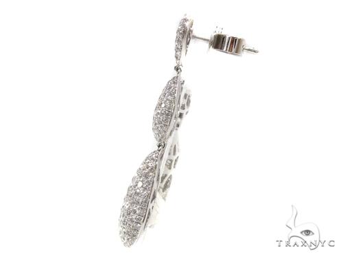 Tear Drop Diamond Chandelier Earrings 40398 Style