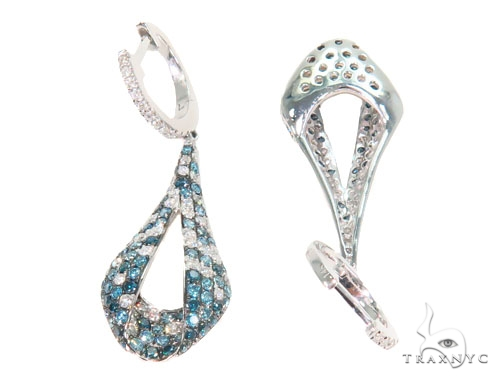 Prong Diamond Chandelier Earrings 44732 Style