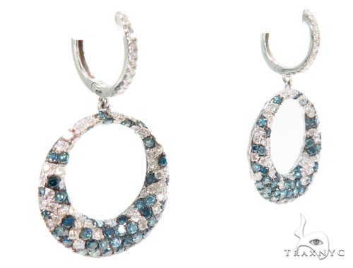 Prong Diamond Chandelier Earrings 44733 Style