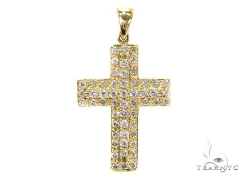 Prong Diamond Cross 40223 Style