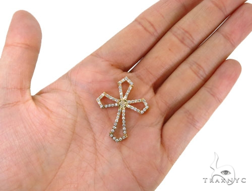 Prong Diamond Cross 40364 Style
