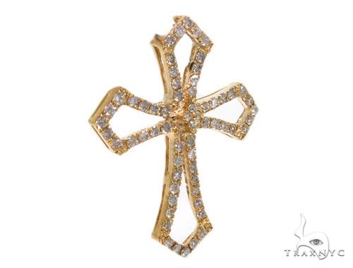 Prong Diamond Cross 40366 Style