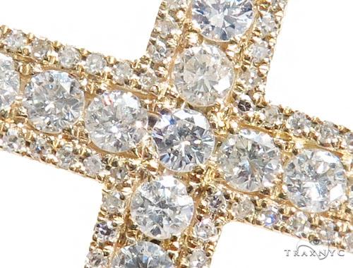 Prong Diamond Cross 42495 Diamond