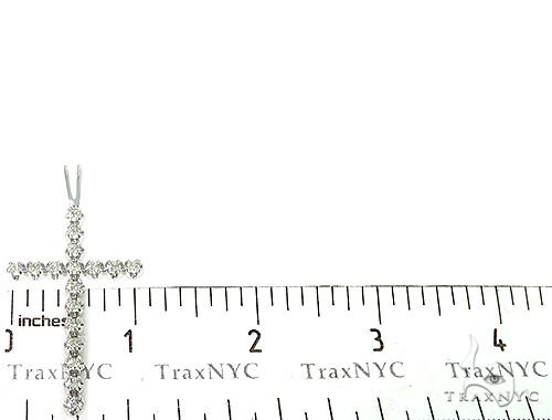 Prong Diamond Cross Crucifix 49454 Diamond