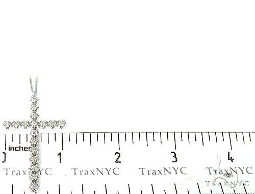 Prong Diamond Cross Crucifix 49454 Diamond