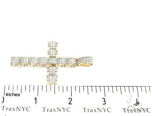 Prong Diamond Cross Pendant 65204 Diamond Cross Pendants