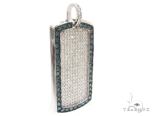 Prong Diamond Dog Tag 35267 Style