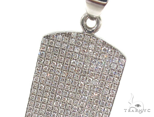 Prong Diamond Dog Tag 35612 Style