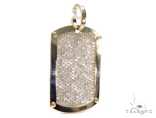 Prong Diamond Dog Tag 42492 Style