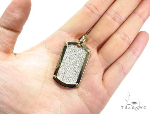 Prong Diamond Dog Tag 42493 Style