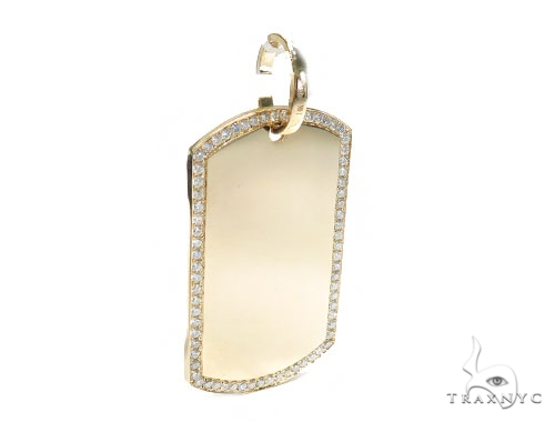 Prong Diamond Dog Tag 42496 Style