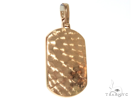 Prong Diamond Dog Tag Pendant 58605 Style