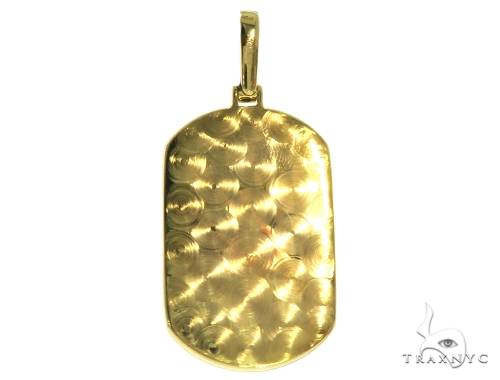 Prong Diamond Dog Tag Pendant 58606 Style
