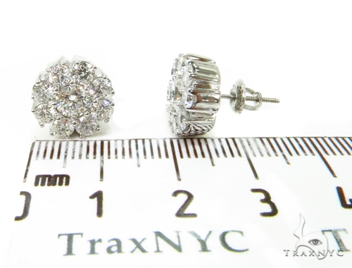 Prong Diamond Earrings&Ring Set 39612 Engagement