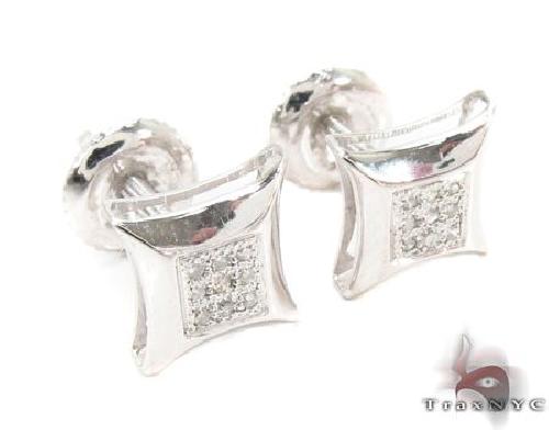 Prong Diamond Earrings 62513 Stone