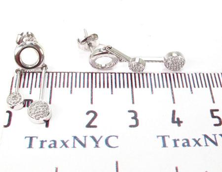 Melody Diamond Earrings 29085 Stone