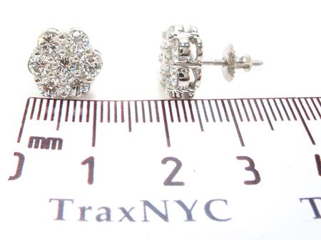 Prong Diamond Earrings 32330 Stone