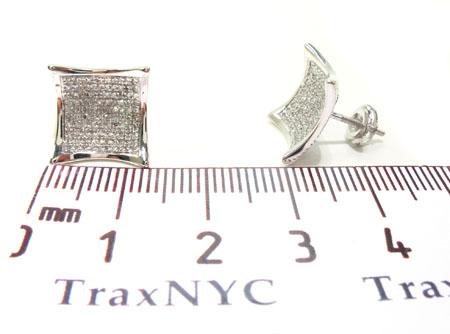 Prong Diamond Earrings 32689 Stone