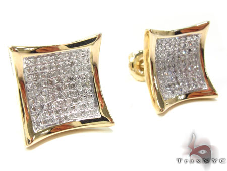 Prong Diamond Earrings 32710 Stone
