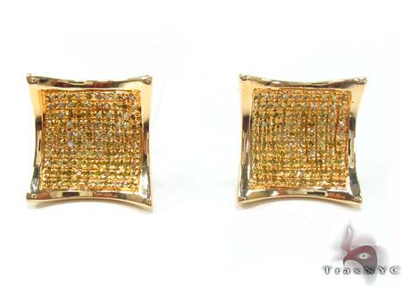 Prong Diamond Earrings 32878 Stone