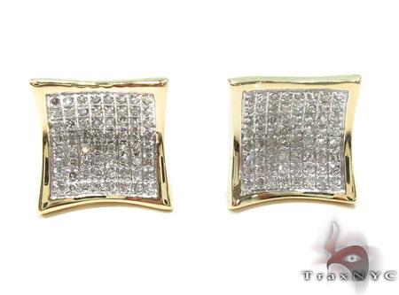 Prong Diamond Earrings 32918 Stone