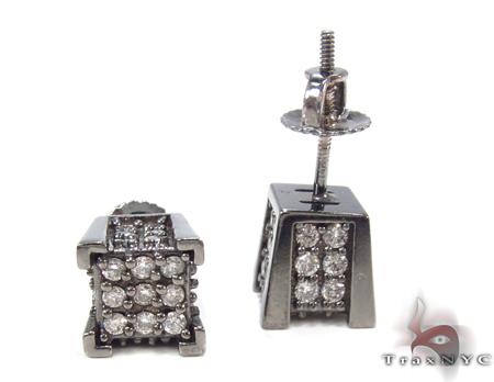 Prong Diamond Earrings 32968 Stone