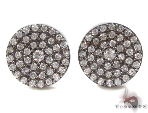 Prong Diamond Earrings 34036 Stone