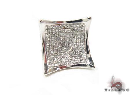 Prong Diamond Single Earring 34294 Style