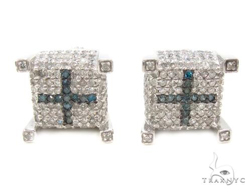 Prong Diamond Earrings 35290 Stone