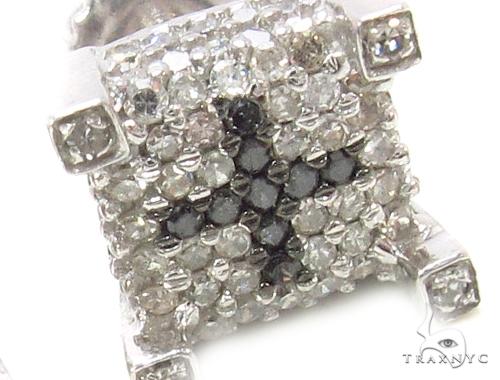 Prong Diamond Earrings 35294 Stone