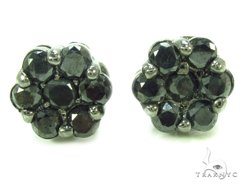 Prong Diamond Earrings 35309 Stone
