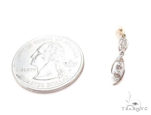 Prong Diamond Earrings 35435 Stone