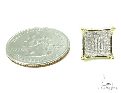 Prong Diamond Earrings 37659 Stone