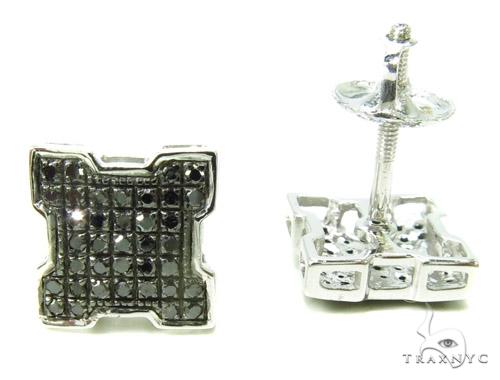 Prong Diamond Earrings 37797 Stone
