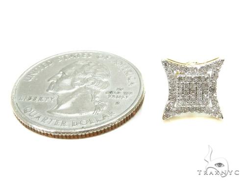 Prong Diamond Earrings 37815 Stone