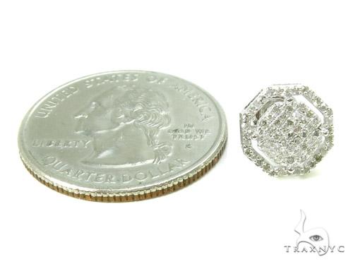 Prong Diamond Earrings 37821 Stone