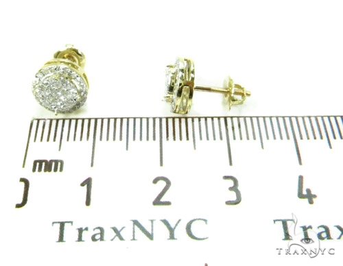 Prong Diamond Earrings 37890 Stone